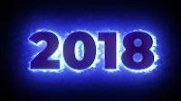 2017 To 2018 Blue Glow