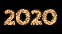 2020 In Sparkles Bold
