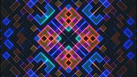 Abstract Grid Visual With Colored Cubes 5