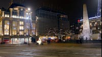 Amsterdam By Night Dam Square 1