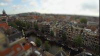 Amsterdam Tiltshift Canals