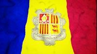 Andorran Flag Video Loop