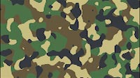 Animated Army Camouflage Background