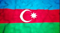 Azerbaijan Flag Video Loop