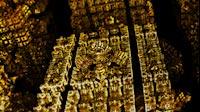 Block Fractal Gold