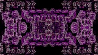 Block Fractal Kaleida Purple