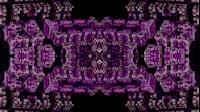 Block Fractal Kaleida Purple