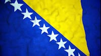 Bosnian Flag Video Loop