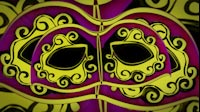Carnival Mask Stacked 1