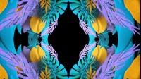 Colorful Jungle Immersion