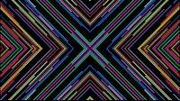 Colorful Lines Video Loop Cross 1