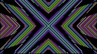 Colorful Lines Video Loop Cross 2
