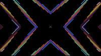 Colorful Lines Video Loop Cross 3