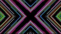 Colorful Lines Video Loop Cross 5