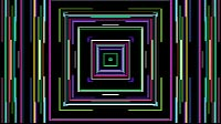 Colorful Lines Video Loop Square 1