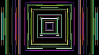 Colorful Lines Video Loop Square 2
