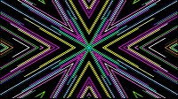Colorful Lines Video Loop Star 1