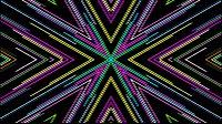 Colorful Lines Video Loop Star 1