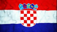 Croatian Flag Video Loop