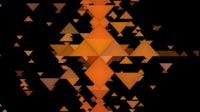 EDM Triangles Background 1 Orange