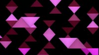 EDM Triangles Scroll Vertical Purple