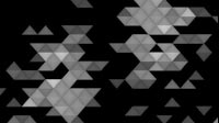 EDM Triangles Spinning Side White
