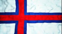 Faroese Flag Video Loop
