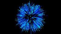 Fireworks Blue