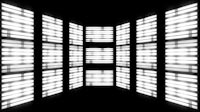 Fluorescent Lights Chase Multi