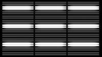 Fluorescent Lights Sequence Grid