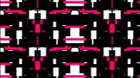 Glitch In Pink And White 3