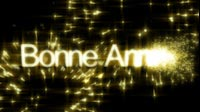 Golden NYE Bonne Annee
