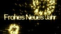 Golden NYE Frohes Neues Jahr