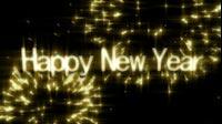 Golden NYE Happy New Year