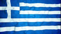 Greek Flag Video Loop