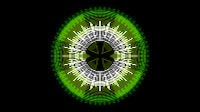HUD Element Dark Green