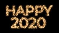 Happy 2020 In Sparkles Bold