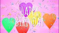 Happy Birthday Balloons Confetti