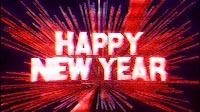 Happy New Year 8 Bit