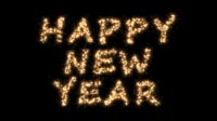 Happy New Year In Sparkles 3