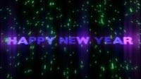 Happy New Year Lights