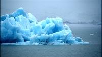 Iceland Glacier Lake Close