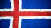 Icelandic Flag Video Loop