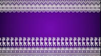 Knitted Christmas Reindeer Background