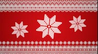 Knitted Christmas Star Grouped 1
