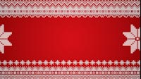 Knitted Christmas Star Side Scrolling