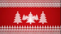 Knitted Christmas Tree Zoom