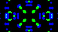 Liquid Mitosis Blue And Green