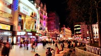 London Night Leicester Square