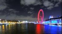 London Night London Eye